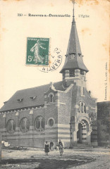 Rouvres S Dammartin Eglise (cliché pas courant - Rouvres