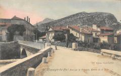 Saint Hippolyte Du Fort Pont Sur Le Vidourle Entree De La Ville - Saint-Hippolyte-du-Fort