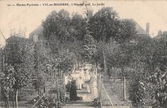 Vic En Bigorre L'Hopital Civil Le Jardin (cliché pas courant - Vic-en-Bigorre