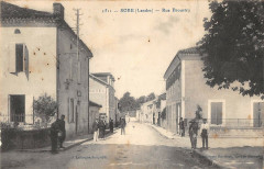Sore Rue Broustra (cliché pas courant - Sore