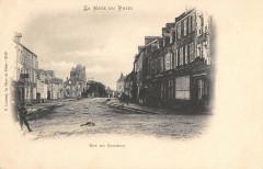 La Haye Du Puits Rue Du Chateau (dos non divisé) - La Haye