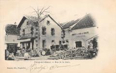 Vitrey Sur Mance Rue De La Gare (dos non divisé) haute saone - Vitrey-sur-Mance
