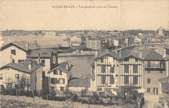 Saint Jean De Luz Vue Generale Prise De Ciboure - Ciboure