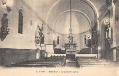 Sahune Interieur De La Nouvelle Eglise - Sahune