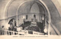 Sahune Interieur De La Nouvelle Eglise Vue Prise De La Tribune - Sahune