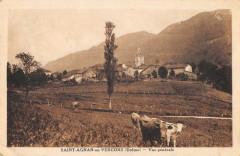 Saint Agnan En Vercors Vue Generale - Saint-Agnan-en-Vercors
