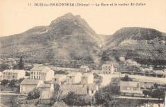 Buis Les Baronnies La Gare Et RocherSaint-Julien - Buis-les-Baronnies