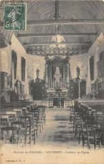 Louversey Interieur Eglise - Louversey