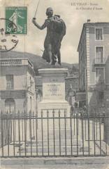 Le Vigan Statue Du Chevalier D'Assas - Le Vigan