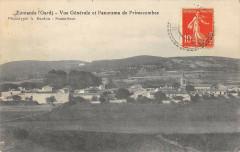 Fontanes Vue Generale Et Panorama De Primecombes - Fontanès