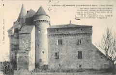 Flamarens Pres Miradoux Vieux Chateau - Flamarens