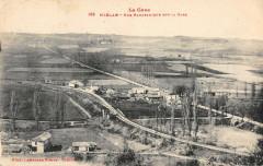 Mielan Vue Panoramique Sur La Gare - Miélan