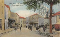 Puisserguier Place De La Republique Herault - Puisserguier