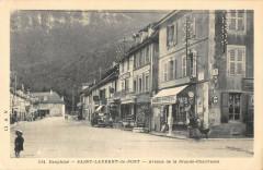 Saint Laurent Du Pont Avenue De La Grande Chartreuse - Saint-Laurent-du-Pont