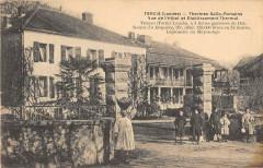 Tercis Thermes Gallo Romains Vue De L'Hotel Et Etablissement - Herm