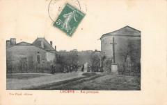 Lagupie Rue Principale - Lagupie