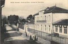 Meze Ecole Des Filles Avenue De Villeveyrac - Mèze