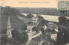 Cambes Panorama Du Bourg Et De La Garonne - Cambes