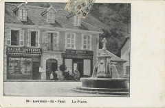 Saint Laurent Du Pont La Place (dos non divisé) - Saint-Laurent-du-Pont