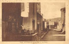 Authezat La Poste (cliché pas courant - Authezat