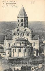 Saint Saturnin Eglise Ancien Cimetiere - Saint-Saturnin