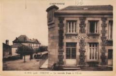 Volvic La Nouvelle Poste Et Ecole - Volvic