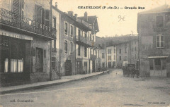 Chateldon Grande Rue - Châteldon