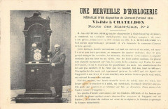 Chateldon Une Merveille D'Horlogerie - Châteldon