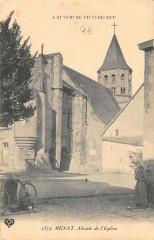 Menat Abside Eglise - Menat