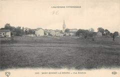 Saint Bonnet Le Bourg Vue Generale - Saint-Bonnet-le-Bourg