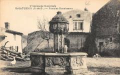 Saint Saturnin Fontaine Renaissance - Saint-Saturnin