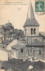 Champeix Eglise Et Marchidial - Champeix