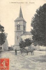Charensat Eglise Et Place - Charensat
