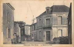 Cherveux Mairie Et Poste - Cherveux