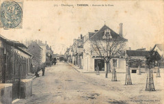 Thenon Avenue De La Gare - Thenon