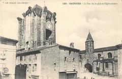 Saugues La Tour Des Anglais Et Eglise Romane - Saugues
