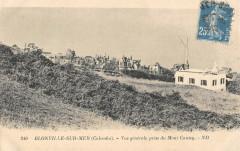 Blonville Sur Mer Vue Generale Prise Du Mont Canisy - Anisy