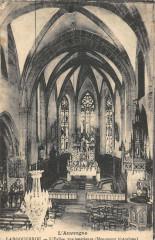 Laroquebrou Eglise Vue Interieure - Laroquebrou