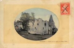 Picquigny Eglise Et Ruines Du Chateau Feodal - Picquigny