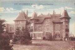 Le Longeron Chateau De Chamblanc Maine Et Loire - Loiré