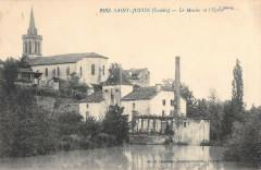 Saint Justin Le Moulin Et Eglise - Saint-Justin