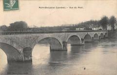 Port De Lanne Vue Du Pont - Port-de-Lanne