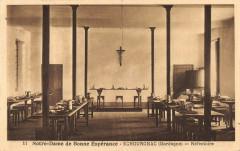 Echourgnac Notre Dame De Bonne Espenrance Refectoire - Échourgnac