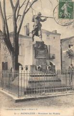 Monpazier Monument Des Mobiles - Monpazier