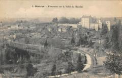 Nontron Panorama Sur La Vallee Du Bandiat - Nontron