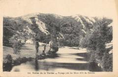 Vallee De La Tardes Paysage Pres Des Mines D'Or Du Chatelet - Tardes
