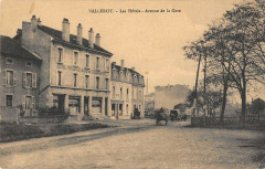 Valleroy Les Hotels Avenue De La Gare - Valleroy