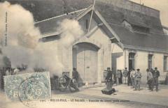 Belle Isle Le Palais Exercice Du Canon Porte Amarre - Le Palais