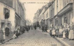 Locmine Rue De La Mairie - Locminé
