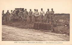 Le Camp De Meucon Batterie En Position - Meucon